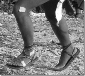 Foot Strike Patterns In Tarahumara Runners Wearing