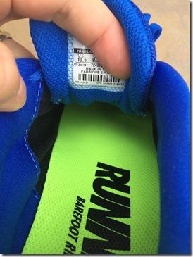 Nike Free 5.0 2015 interior