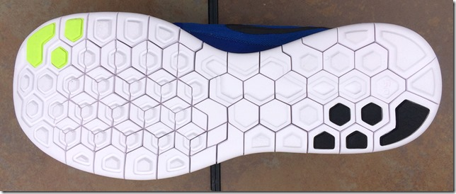 Nike Free 5.0 2015 sole