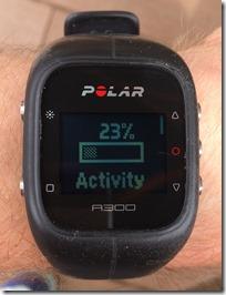 Polar A300 Activity