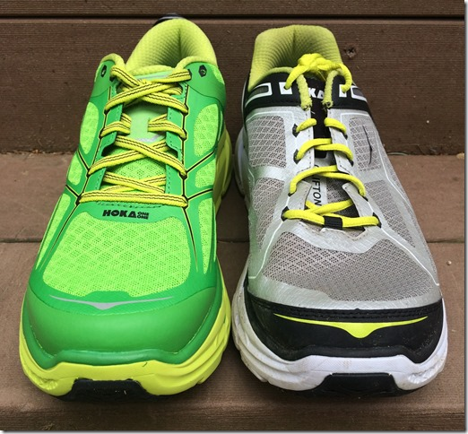 Hoka Clifton Compare Front