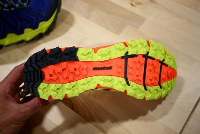 Good looking outsole design with full coverage and rockplate in the forefoot. Check and check.
