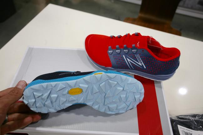 Nice aggressive yet versatile looking full coverage Vibram outsole on the MT10v4.