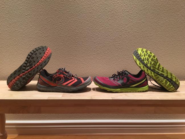 Pear Izumi Trail N1 v2 and N2 v2
