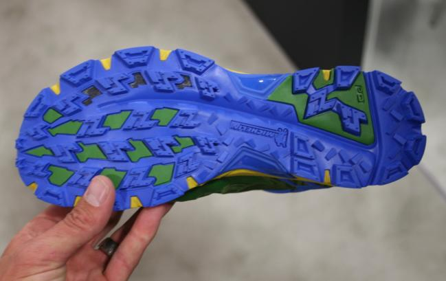 Nice outsole design that might be a tad busy visually, but should perform well on a variety of surfaces.