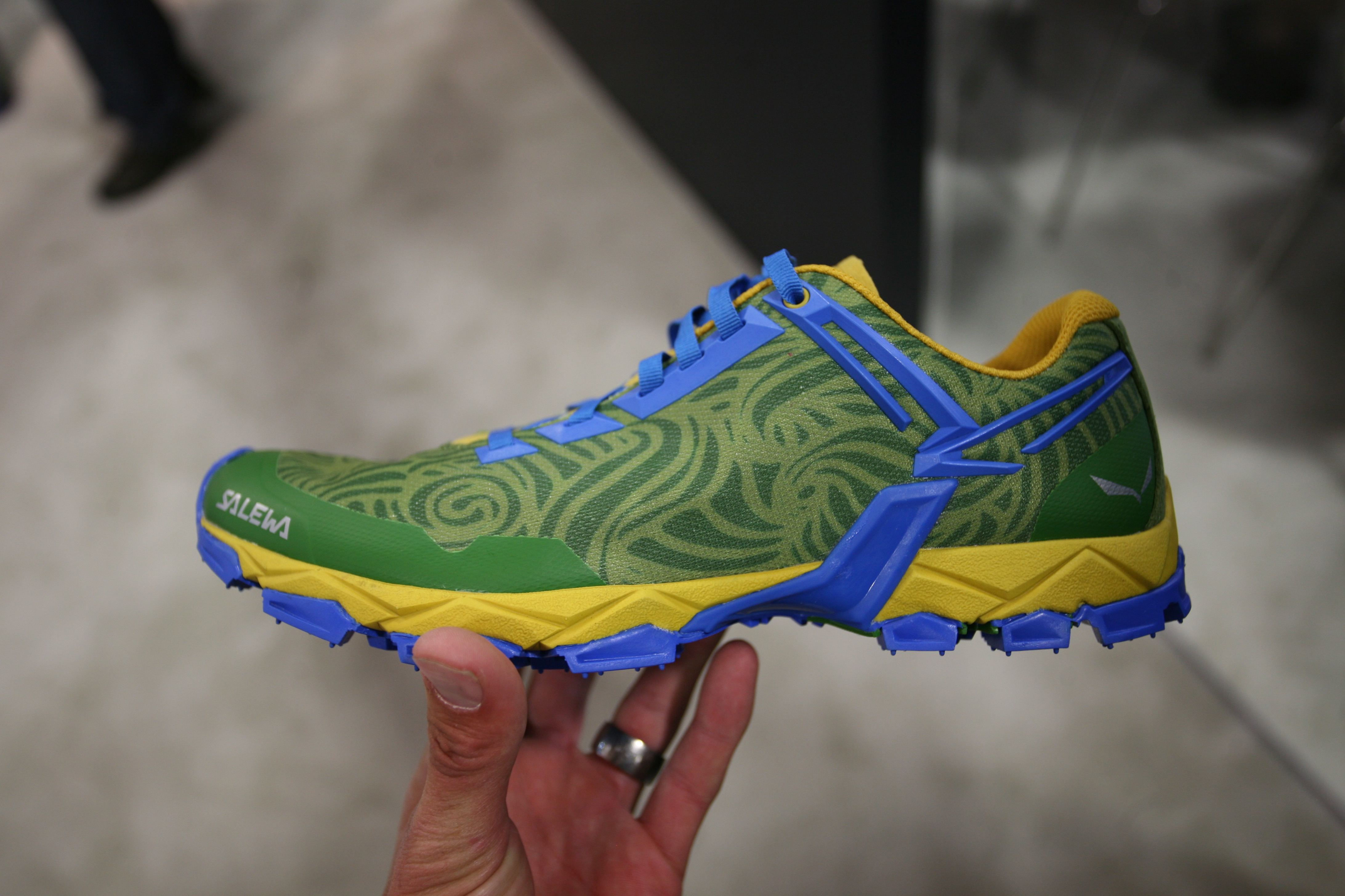 c6ba8d4a6 Salewa Lite Train. A fantastic looking light and fast shoe with  minimalistic design features.