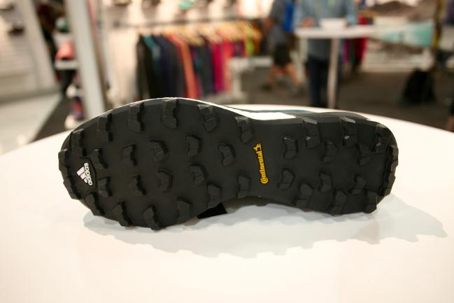 Fantastic outsole on it that is pretty aggressive, but should run ok on the occasional harder trail.