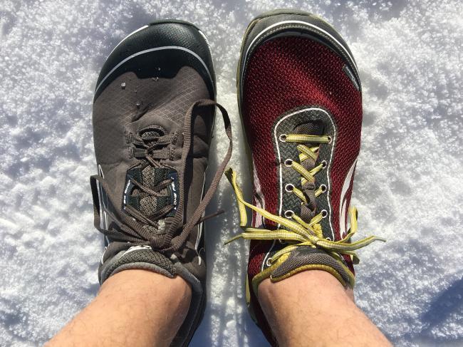 Altra Lone Peak Neoshell and Lone Peak