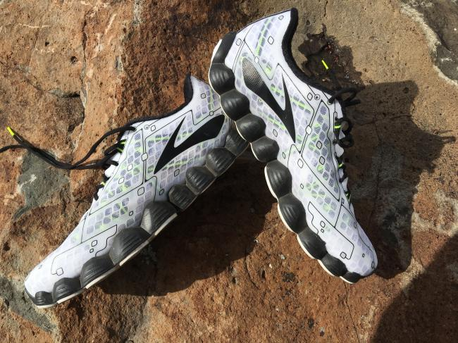 Way too much design freedom on the midsole...those bubble shapes do not help the ride and are simply aesthetic.