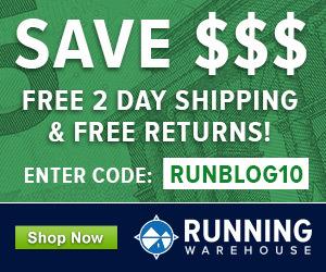 Ejecución de la barra lateral de Warehouse Runblogger