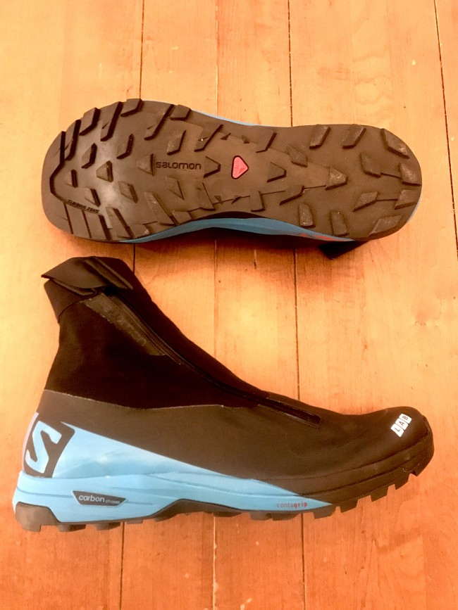 The most specific and technical shoe of the bunch. Salomon's clean design aesthetic on full display.