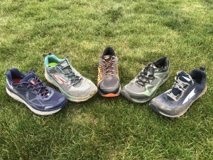 Spring 2017 Cushioned Trail Shoe Round-up: Skechers GOTrail Ultra 4, Hoka One One Challenger ATR 3, Brooks Caldera, Altra Superior 3.0, Topo Athletic Terraventure